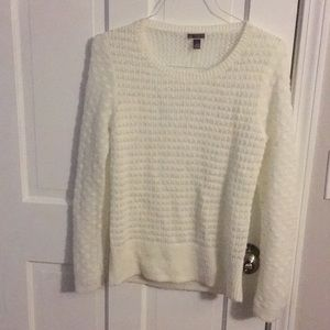 Nordstrom Chelsea 28 soft white sweater Small